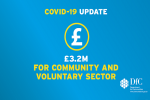 Communities Minister Carál Ní Chuilín today announced £3.2 million in additional funding to Councils to allow them to support the voluntary and community sector as it continues to recover and help citizens to get through the COVID-19 crisis.