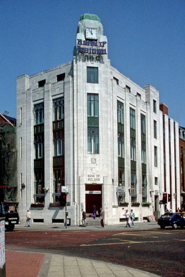 Bank of Ireland building in Belfast