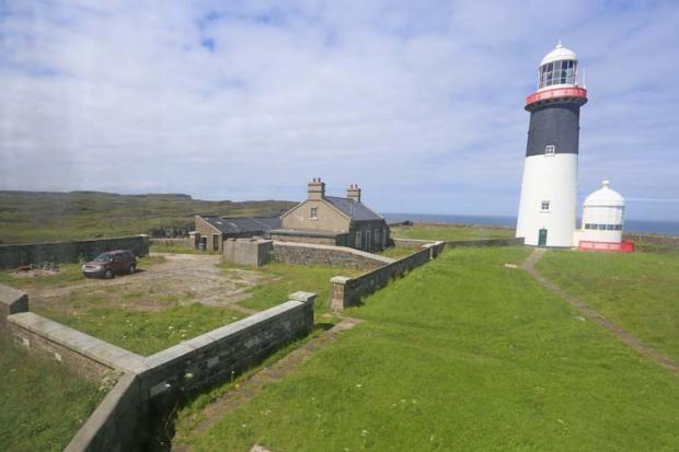 East Lighthouse on Rathlin Island