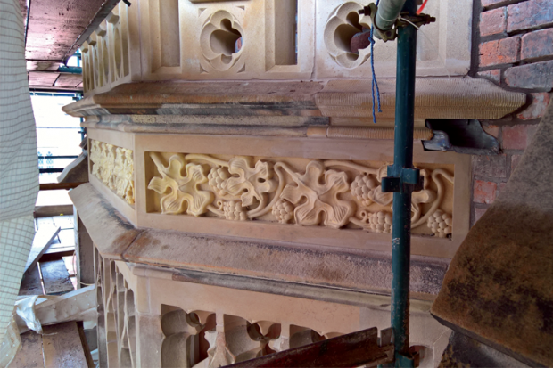 Listed Buildings Maintenance - image of restoration