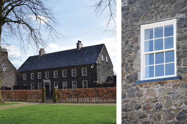 Listed Buildings Maintenance - image of roof and window repairs