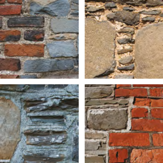 Listed Buildings Maintenance - image of pointing restoration