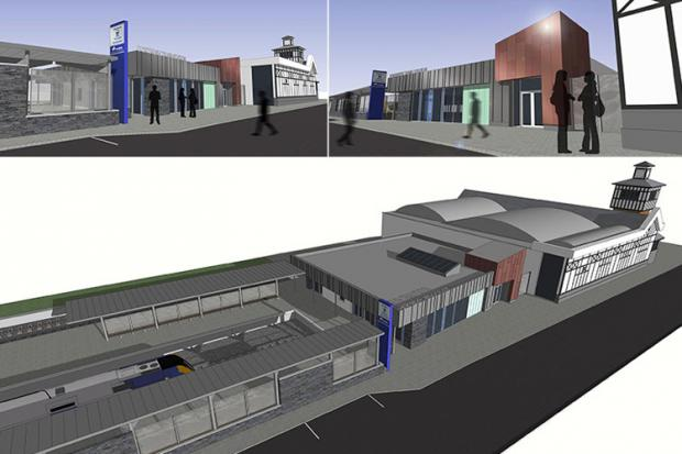Portrush train station redevelopment