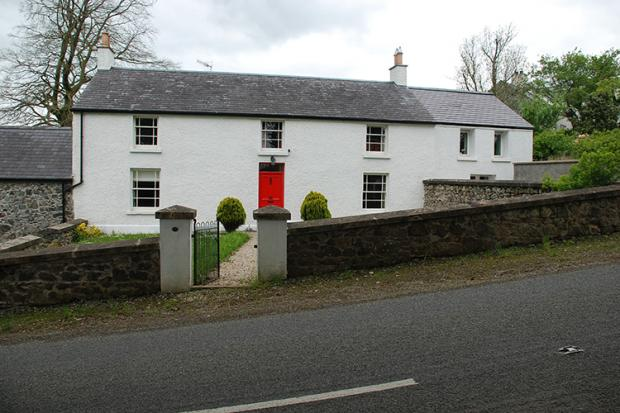 A carefully extended vernacular house, Coagh, Co Tyrone