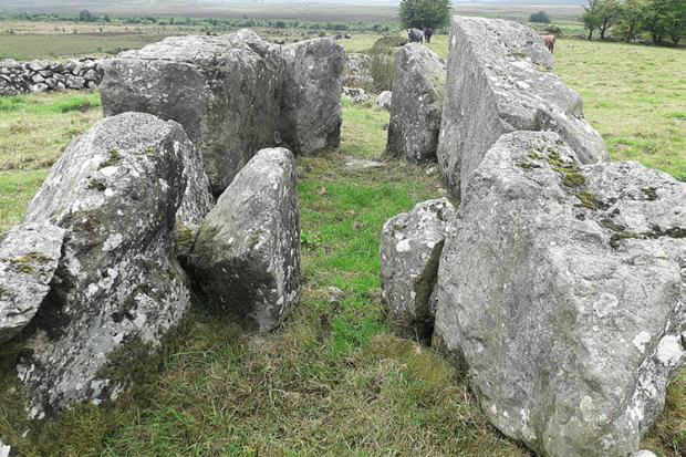 Ballybriest Dual Court Tomb: Carnanbane