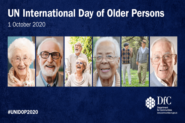 Combatting Covid-19 together on UN International Day of Older Persons