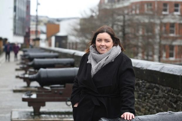 Minister Hargey on Derry Walls