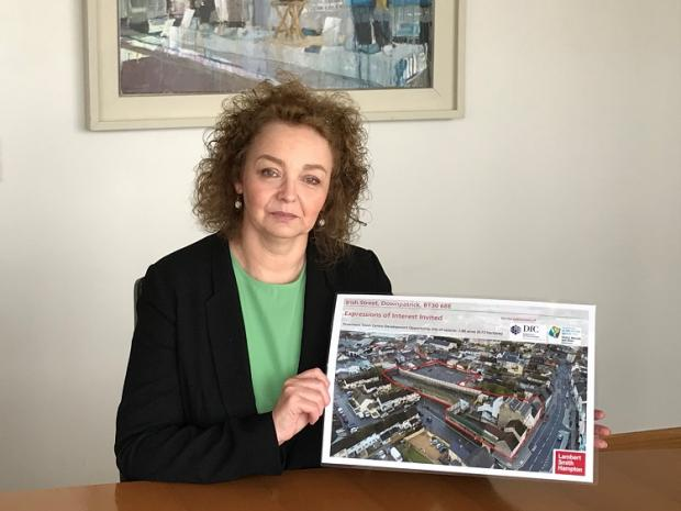 Ní Chuilín welcomes views on regeneration of major site in Downpatrick
