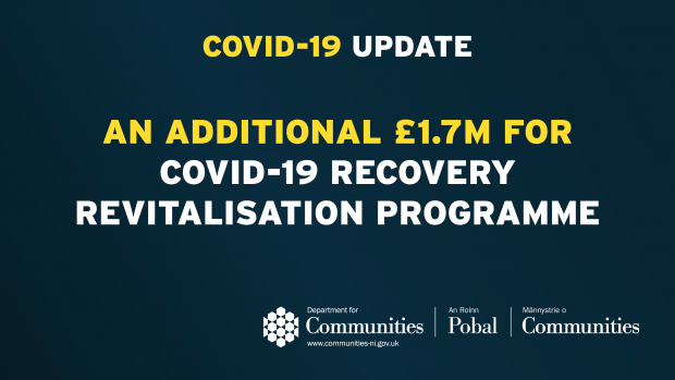 An additional £1.7m for Covid-19 Recovery Revitalisation Programme