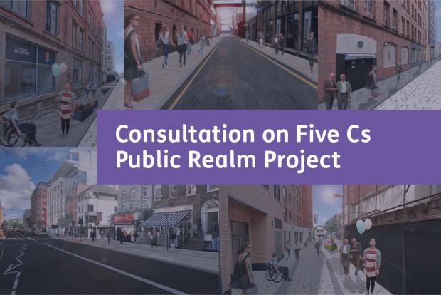 Minister Ní Chuilín launches consultation on Belfast public realm scheme