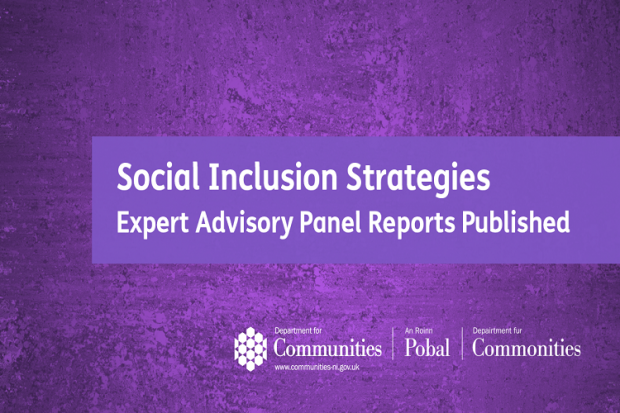 Minister Publishes Expert Advisory Panel Reports on Social Inclusion Strategies