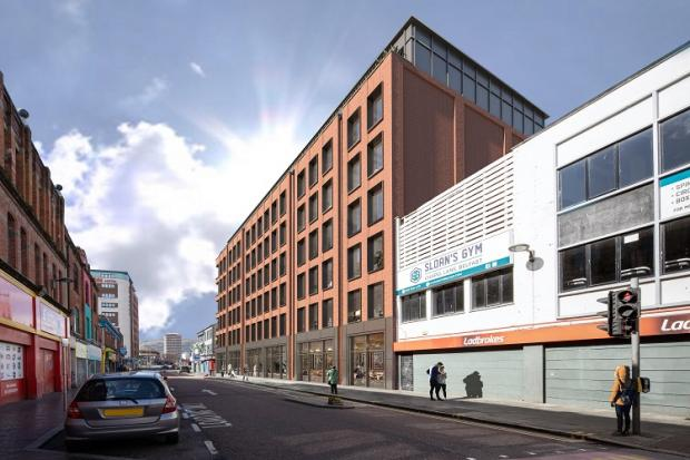 Minister Hargey announces redevelopment boost for Castle Street, Belfast