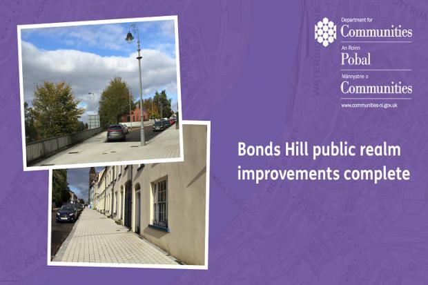 Bonds Hill public realm improvements complete