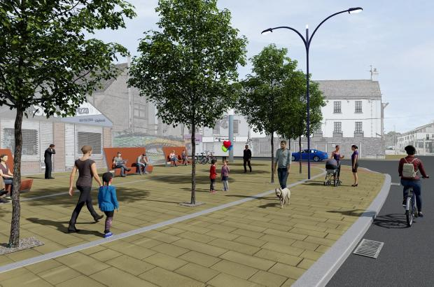 Hargey announces major funding boost for Banbridge
