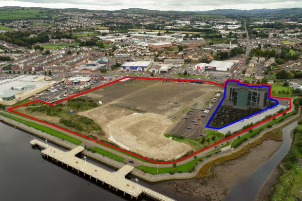 The Fort George site in Derry~Londonderry