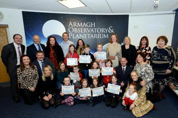 Children of deaf adults celebrate completing a 30 week Homework Support Club programme