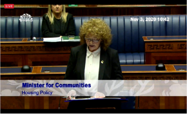 In a wide ranging statement to the Assembly today, Communities Minister Carál Ní Chuilín set out her plans to address the significant challenges facing our housing system.