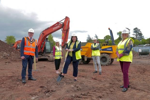 Minister Hargey cuts the sod on new £6.5m shared housing scheme