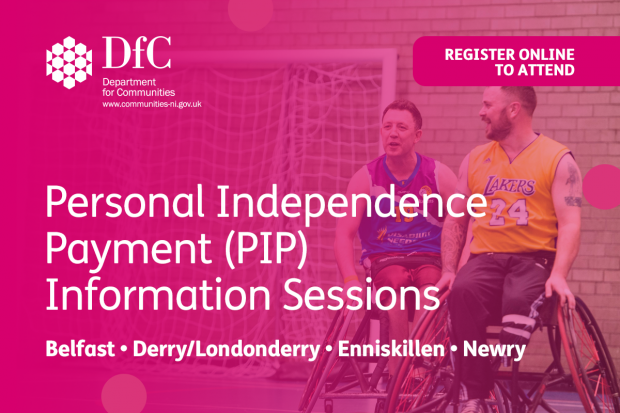Personal Independence Payment information session image