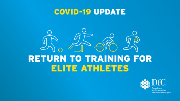 Following today's Executive meeting it has been announced that professional sports teams and elite athletes can return to training.