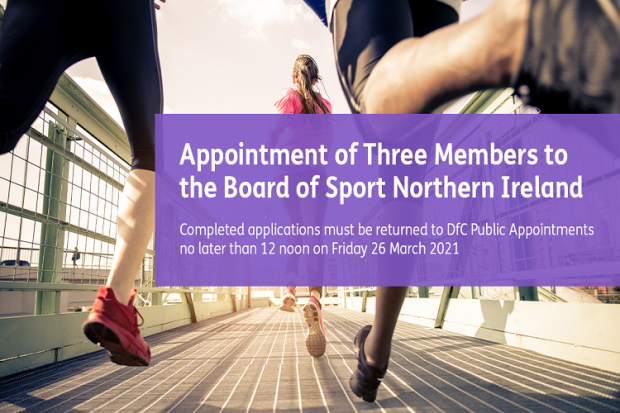Competition to appoint new Members to the Board of Sport NI