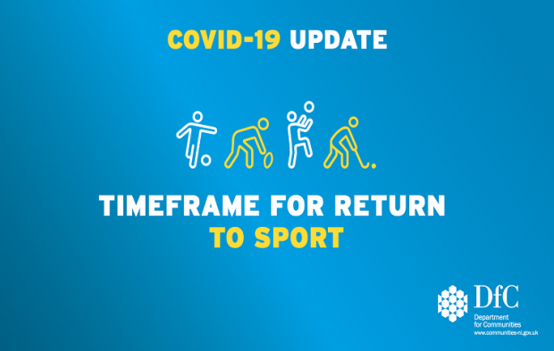 Minister announces the indicative timeframe for a Return to Sport