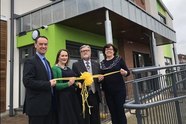 Opening of new family centre in Twinbrook, West Belfast