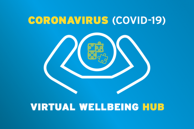 A new virtual wellbeing hub to promote positive mental health during the COVID-19 pandemic has been launched.