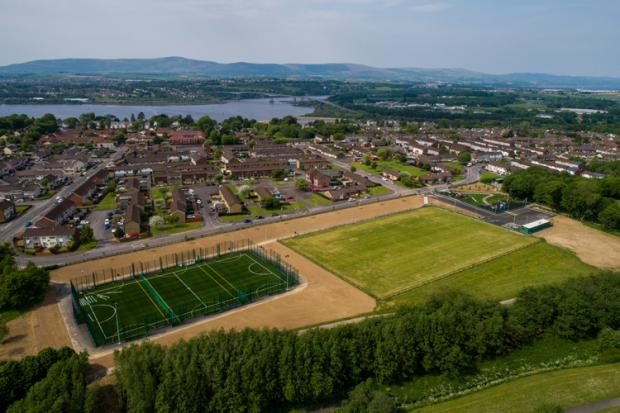 Waterside area of Derry~Londonderry
