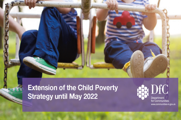 Minster announces extension to Child Poverty Strategy