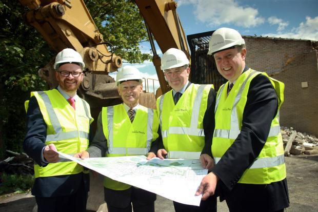 Construction work has begun on a new £4.2million housing scheme in Greenisland for those living with dementia