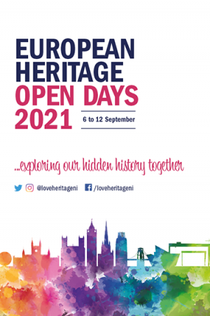 European Heritage Open Days 2021 6 to 12 September Exploring our hidden history together